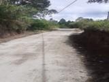 Proyek Jalan dari Dana PEN di Taput Dipertanyakan Warga, Diduga Asal Jadi