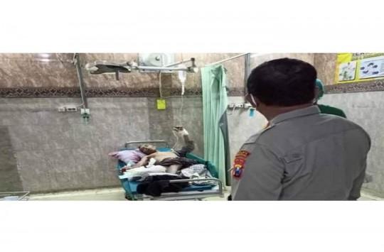 Anak Lempar Bom ke Rumah Ibu Kandung, Satu Meninggal