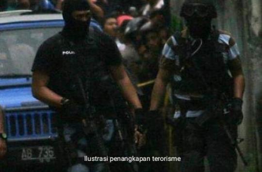Densus 88 Tangkap Terduga Teroris di Medan Johor