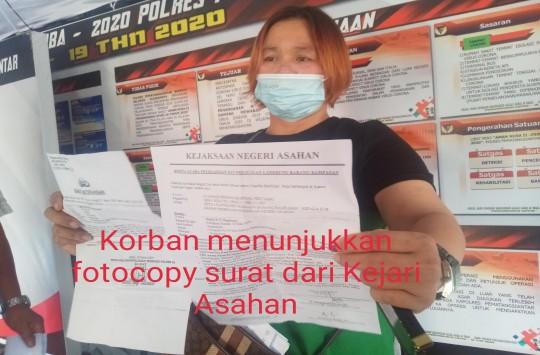 Diduga Menipu, Istri Jaksa Dilaporkan ke Polres Siantar