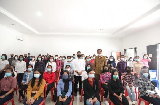 Disnaker Siantar Kembali Kirim Tenaga Kerja ke PT Philips Batam