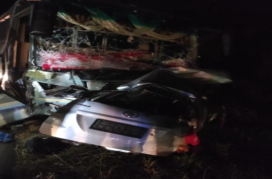 Kecelakaan Maut di Tebingtinggi, 9 Orang Meninggal